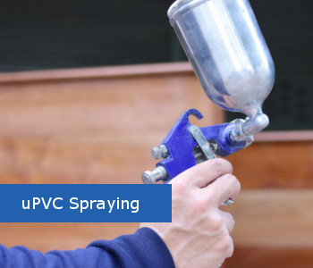 uPVC Spraying in Lancashire  and Yorkshire